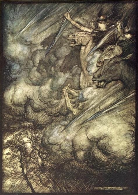 ride of valkyrie