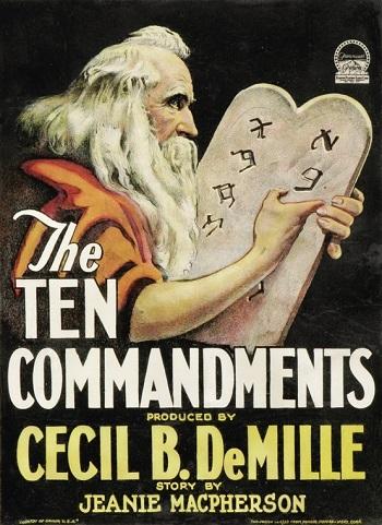 The Ten Commandments 1923